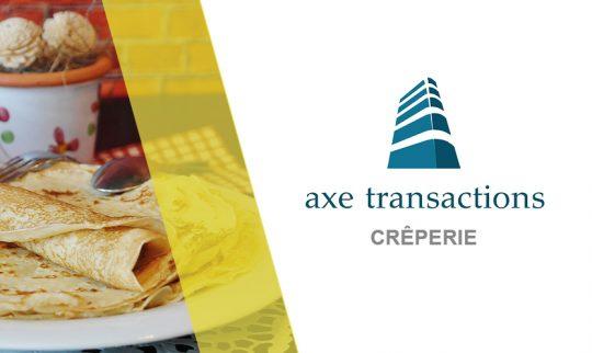 fonds de commerce : CRÊPERIE , GRILL , SALADERIE à vendre sur le 53