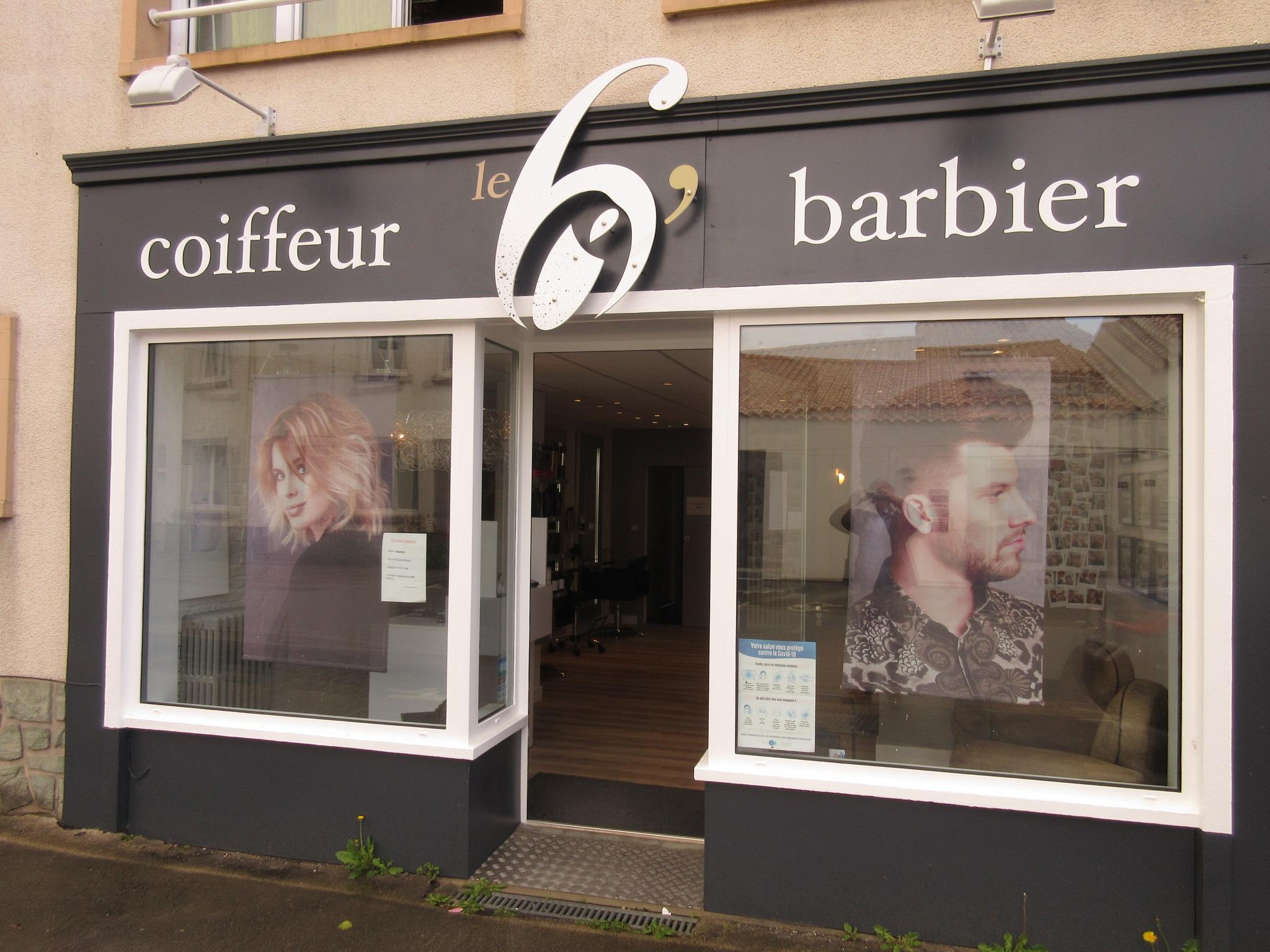LE SALON DE COIFFURE- BARBIER- DU POIRE SUR VIE (85)