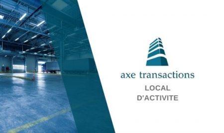 EN EXCLUSIVITE !  LOCAL D'ACTIVITE de 455 m2 – ANGERS EST
