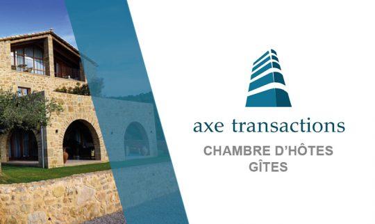Ensemble immobilier à céder exploité en GITES CHAMBRES D'HÔTES  sur le Maine et Loire