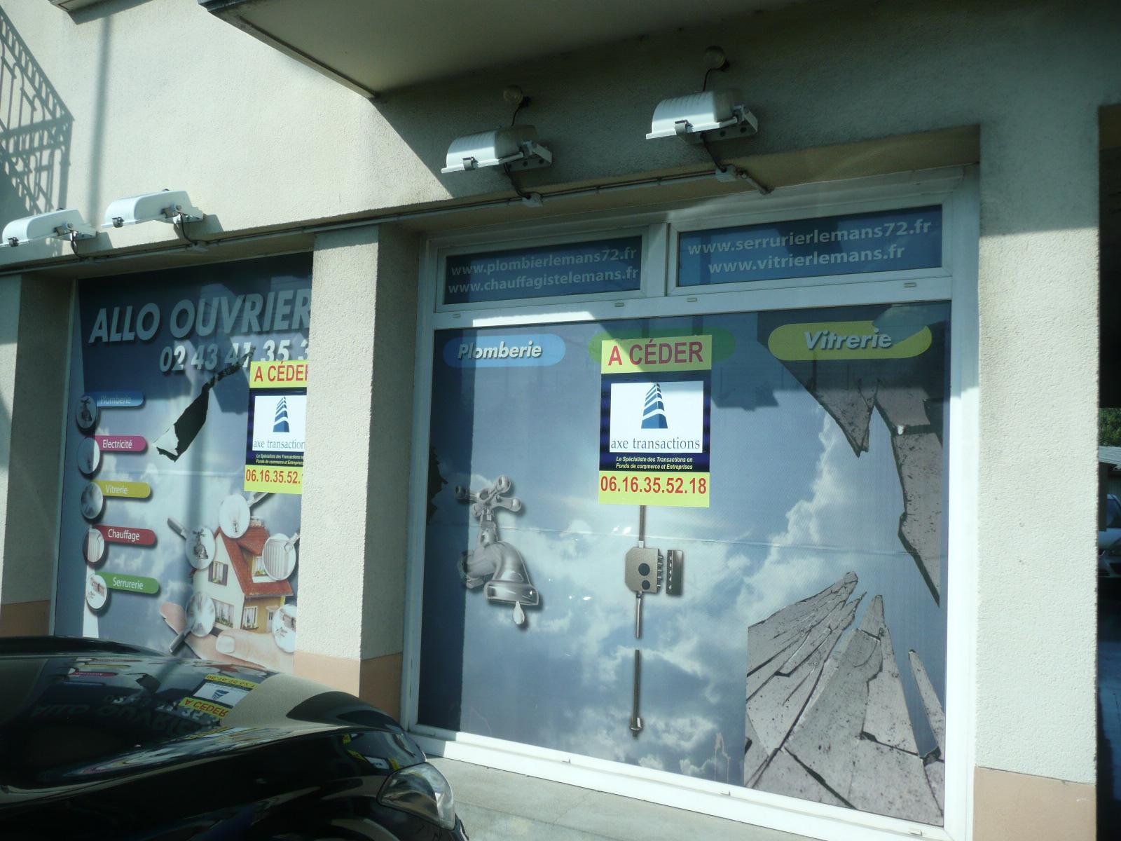 LOCAL COMMERCIAL 70 M² LE MANS A LOUER  - Bureau Local Entrepôt