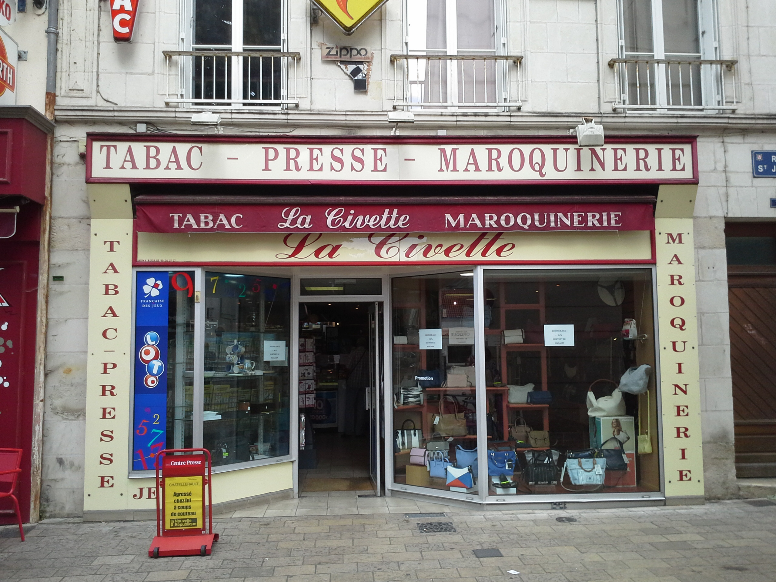 TABAC PRESSE  LOTO MAROQUINERIE