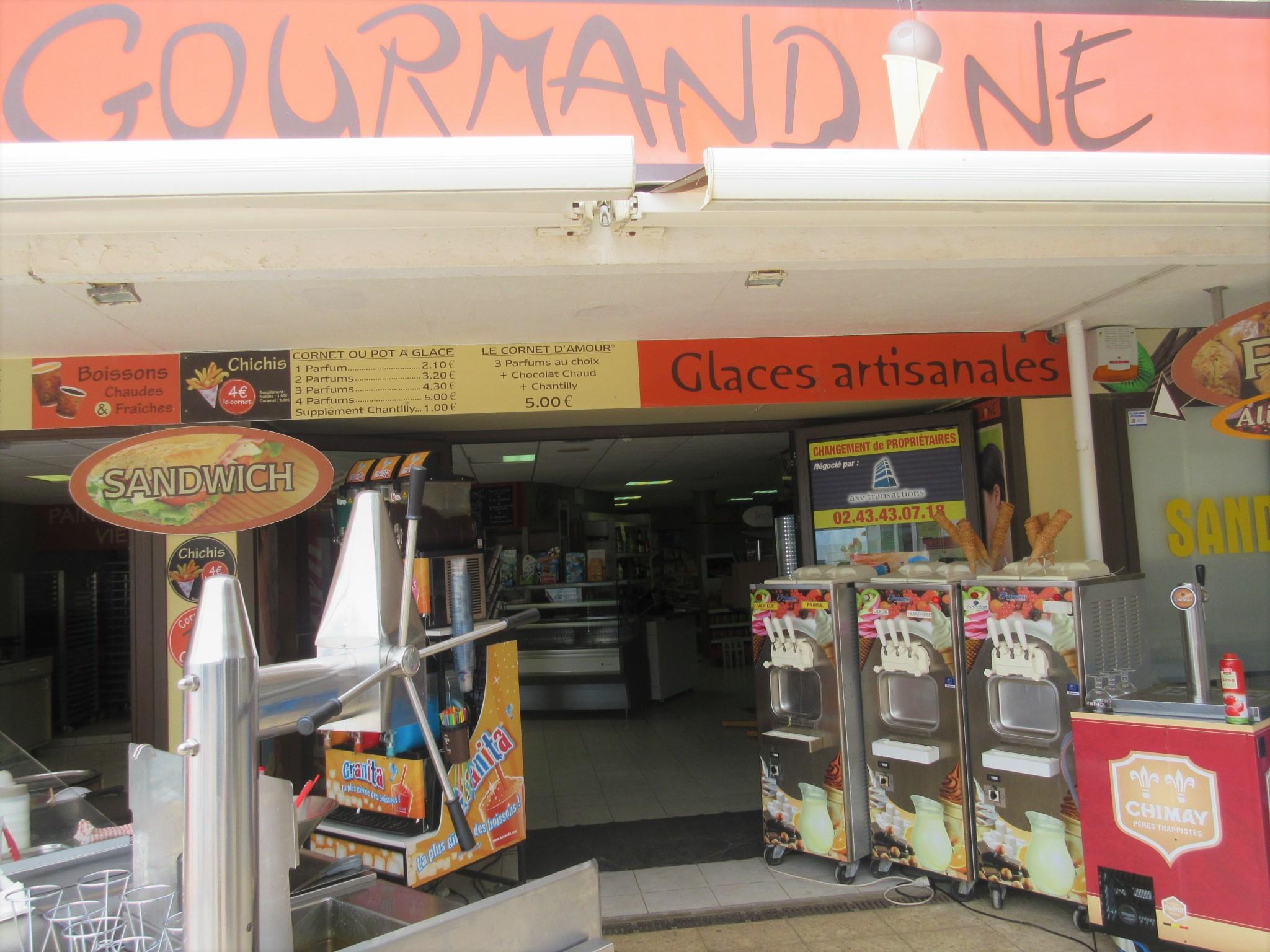 LA GOURMANDINE à SAINT GILLES CROIX DE VIE