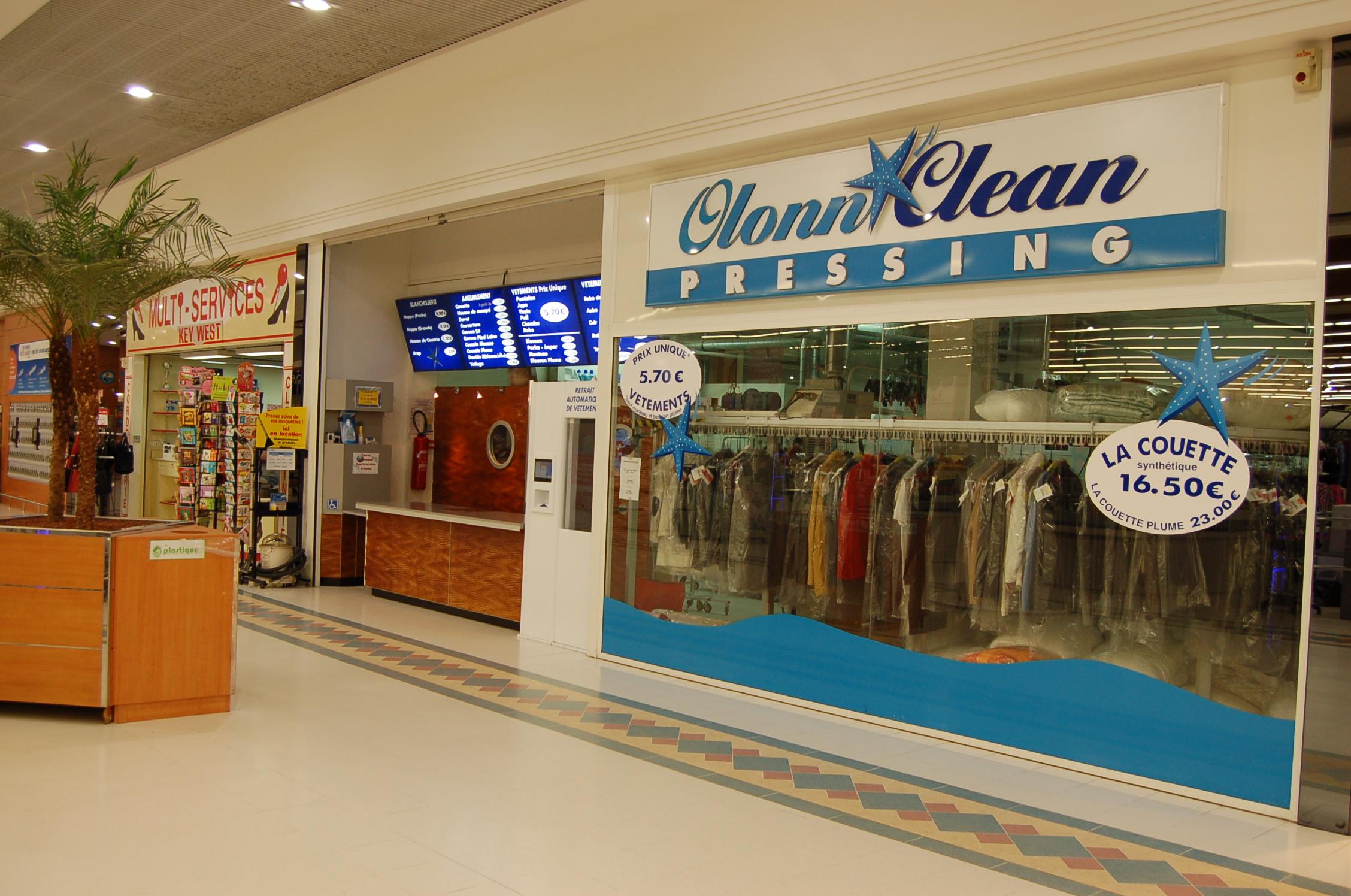 Le pressing Olonn Clean